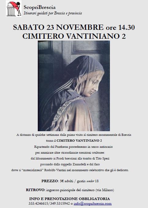 Cimitero Vantiniano 2 con ScopriBrescia