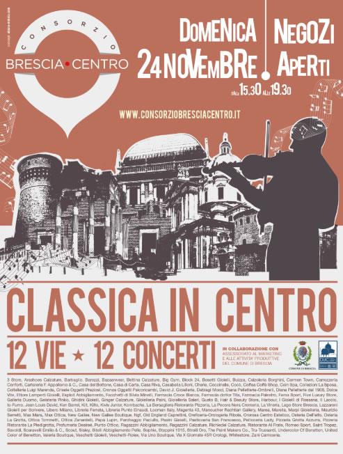 Classica in Centro a Brescia