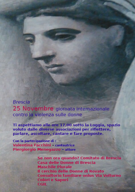 Contro la Violenza sulle Donne a Brescia