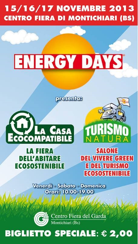 Energy Days 2013 Fiera Montichiari