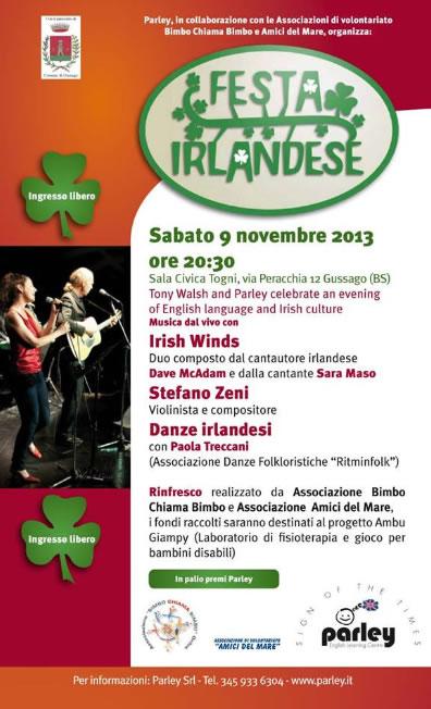 Festa Irlandese a Gussago