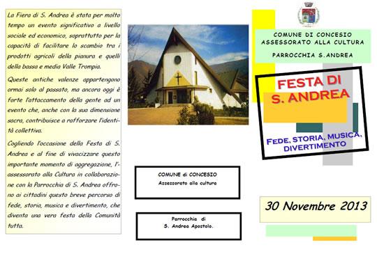Festa di S. Andrea a Concesio