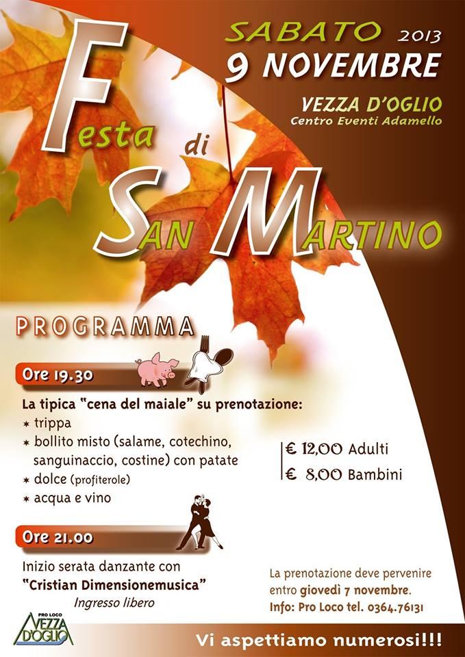 Festa di San Martino a Vezza d'oglio