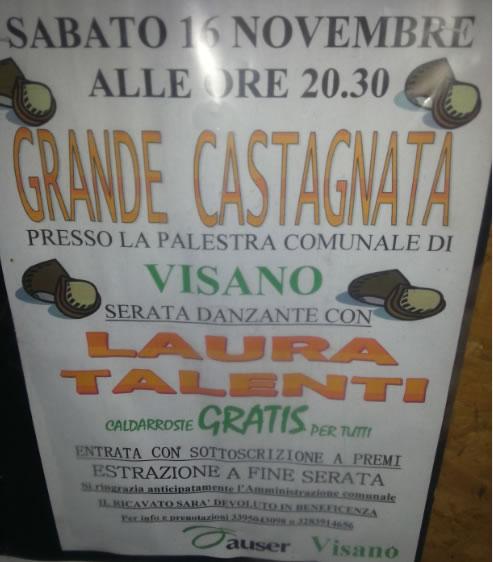 Grande Castagnata a Visano