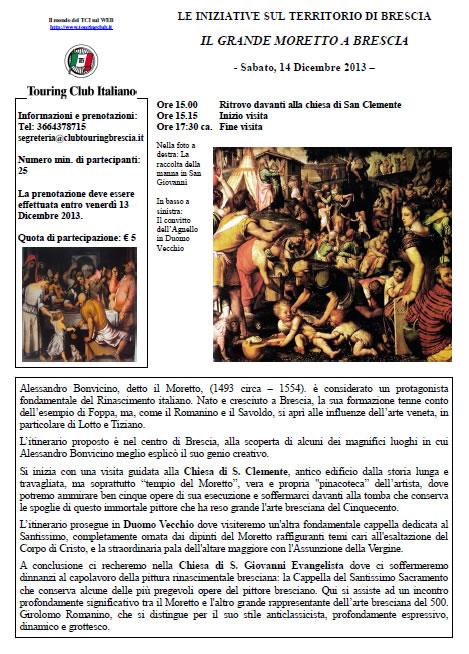 Il Grande Moretto a Brescia