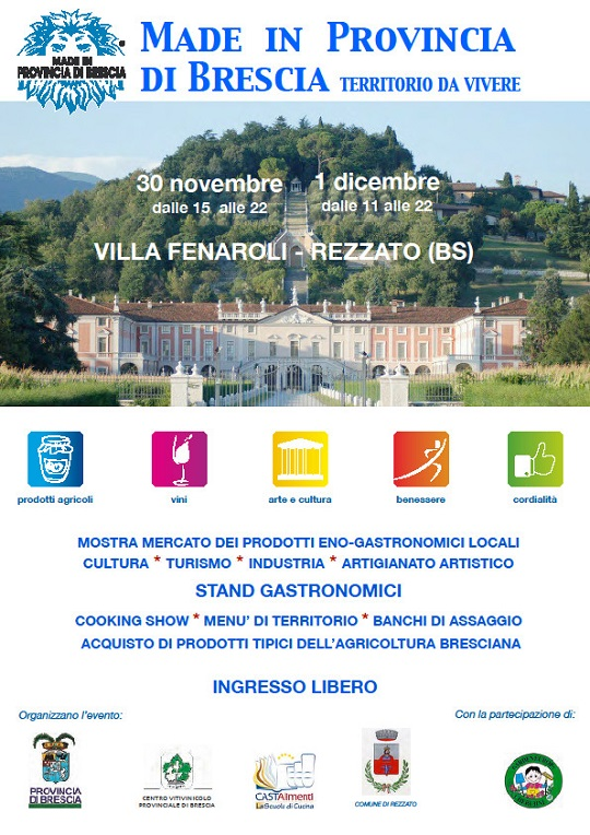 Made in Provincia di Brescia - Villa Fenaroli Rezzato 2013