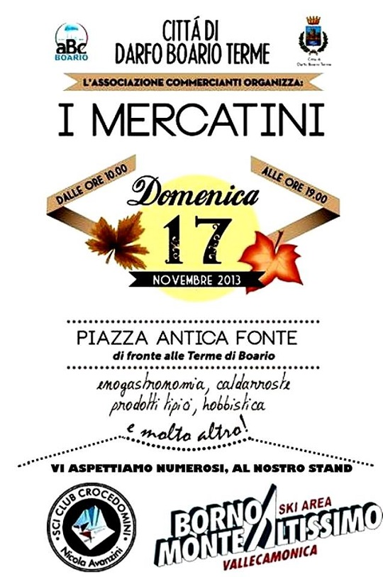 Mercatini a Darfo Boario Terme