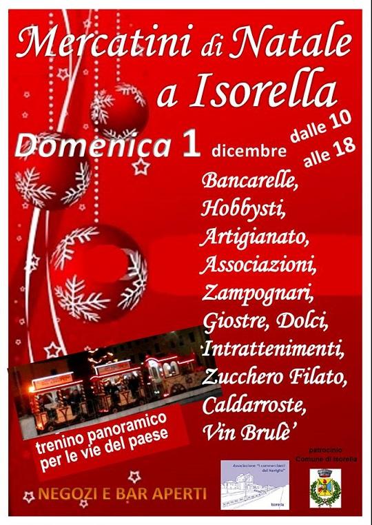 Mercatini di Natale 2013 Isorella