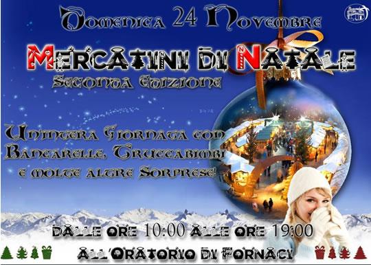 Mercatini di Natale a Fornaci