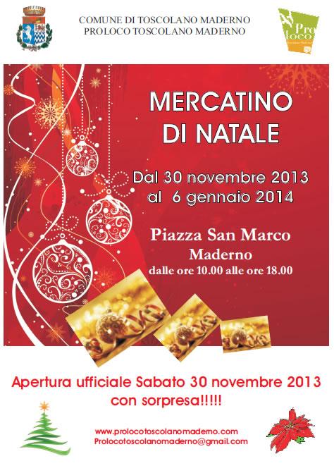 Mercatino di Natale a Maderno