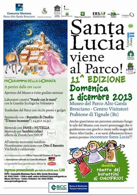 Santa Lucia Viene Al Parco a Tignale