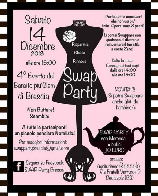 Swap Party a Bedizzole