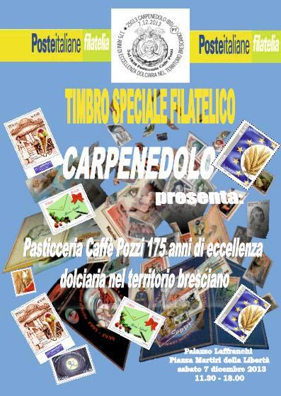 imbro Speciale Filatelico Carpenedolo 2013