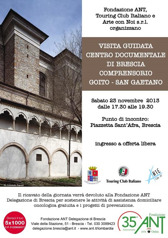 Visita Guidata Centro Documentale di Brescia 2013