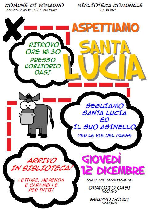 Aspettiamo Santa Lucia a Vobarno