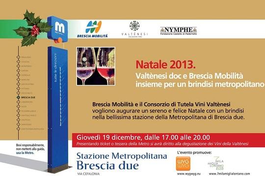 Brindisi metropolitano Brescia 2013