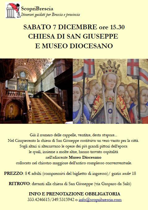 Chiesa di San Giuseppe e Museo Diocesano con ScopriBrescia