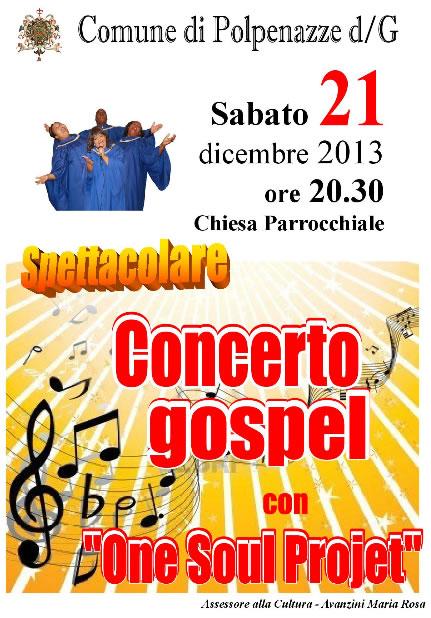 Concerto Gospel a Polpenazze