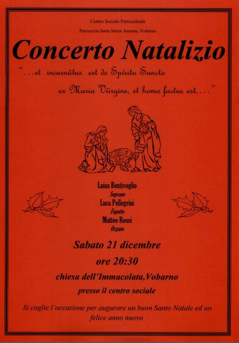Concerto Natalizio a Vobarno