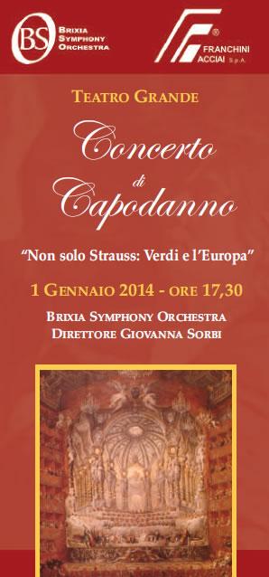 Concerto di Capodanno al Teatro Grande