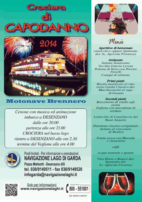 Crociera di Capodanno a Desenzano