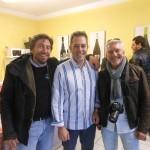 Nicola trami con Giorgio Salvetti Sodano e Germano Bana