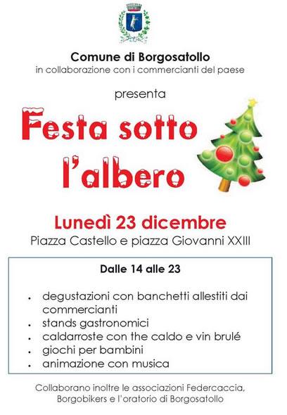 Festa Sotto l'Albero a Borgosatollo