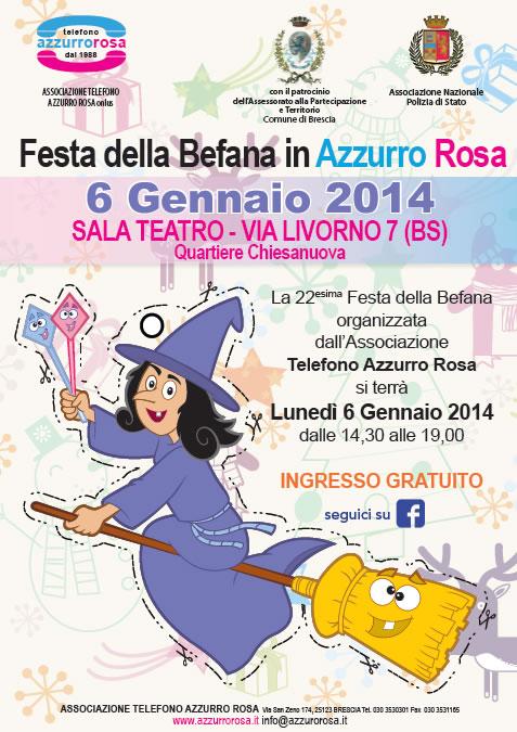 Festa della Befana in Azzurro e Rosa a Chiesanuova