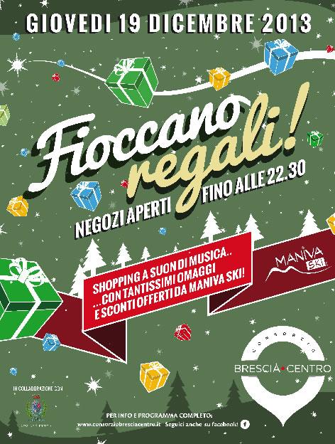 Fioccano Regali a Brescia