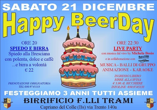 Happy BeerDay Trami 2013 Capriano del Colle