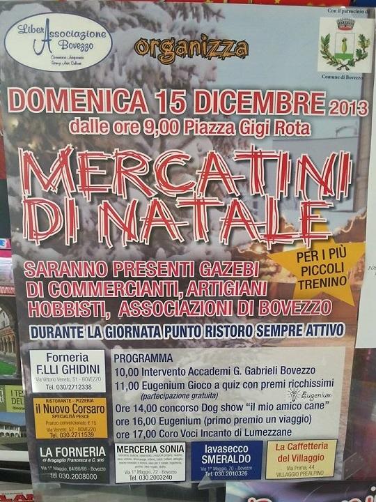 Mercatini di Natale 2013 Bovezzo