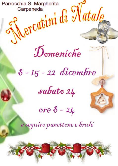 Mercatini di Natale a Carpeneda di Vobarno