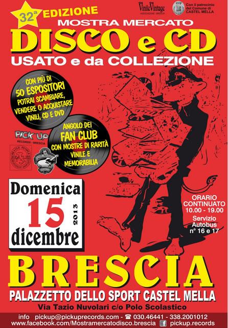 Mostra Mercato Disco e Cd a Castel Mella