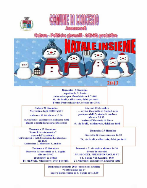 Natale Insieme a Concesio