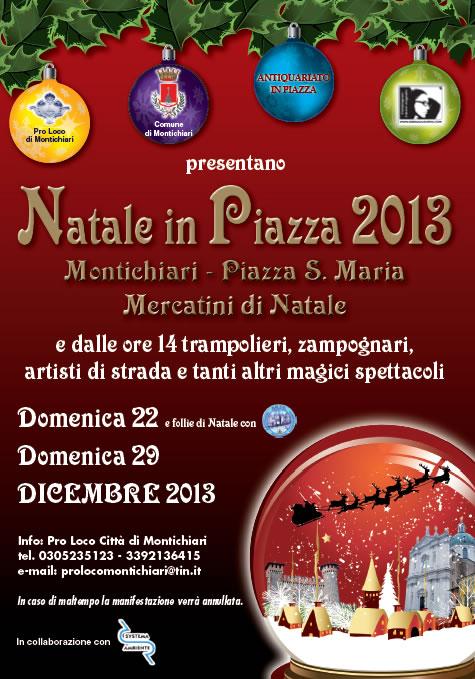 Natale in Piazza a Montichiari