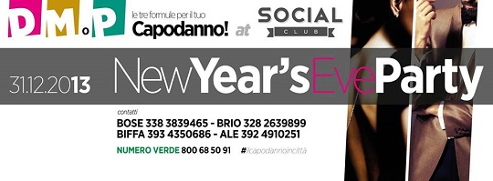 NewYear's Eve Party Brescia