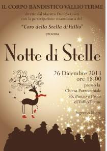 Notte di Stelle a Vallio Terme