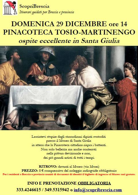 Pinacoteca Tosio-Martinengo con ScopriBrescia