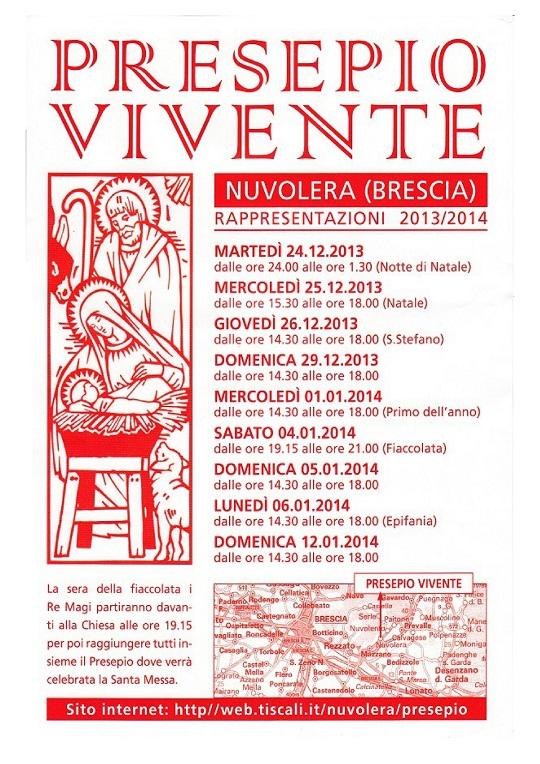 Presepio Vivente 2013 Nuvolera