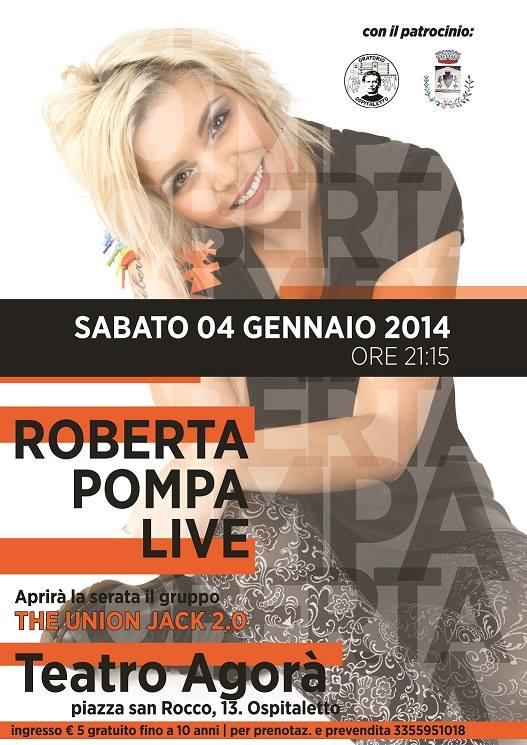 Roberta Pompa in Concerto a Ospitaletto