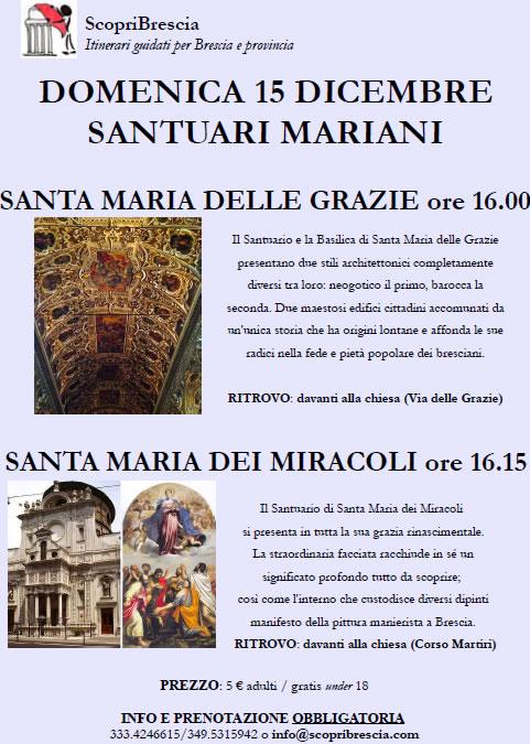 Santuari Mariani con ScopriBrescia