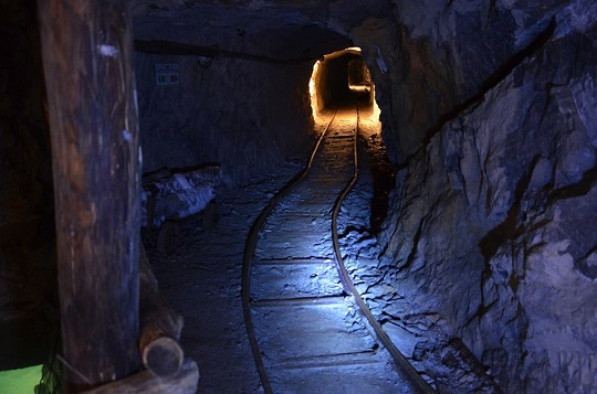 Visita e Brindisi in Miniera a Gorno (BG)