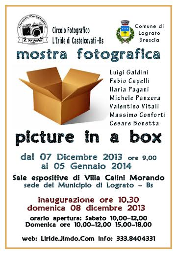 mostra picture in a box a Lograto