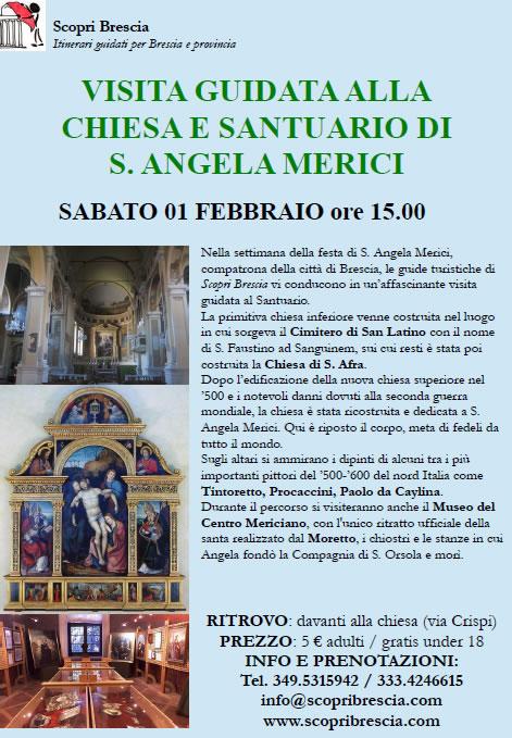 Chiesa e Santuario di S.Angela Merici con ScopriBrescia