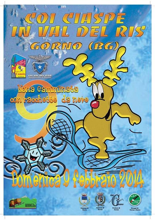Coi Ciaspre in Val del Ris 2014 Gorno (BG)