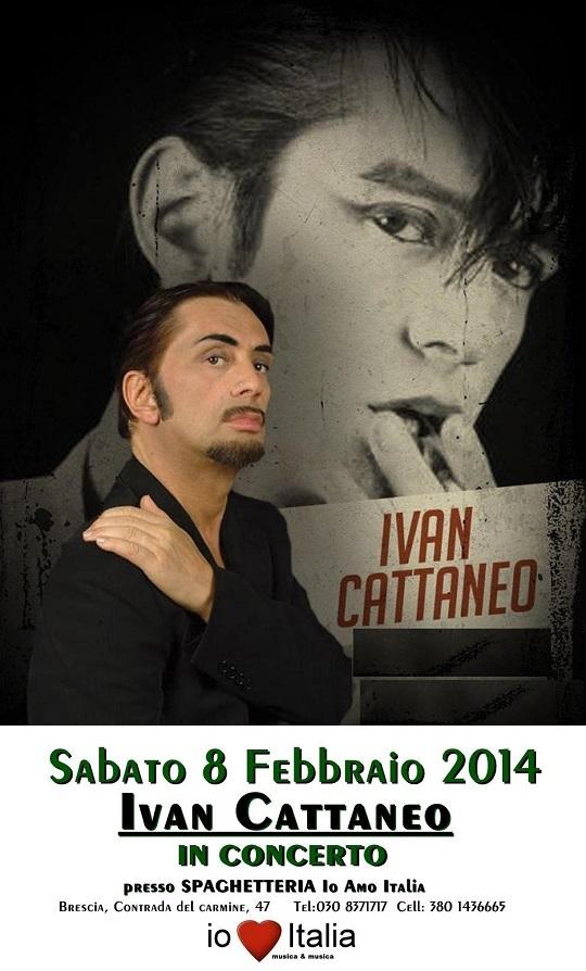 Ivan Cattaneo a Io amo Italia Brescia