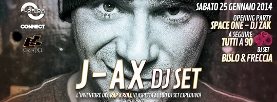 J-Ax al DecaDance Party Florida Ghedi