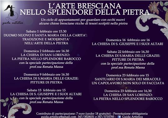 L'Arte Bresciana nello Splendore della Pietra
