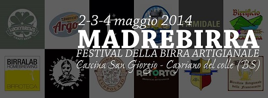 Madre Birra 2014 - Birrifici