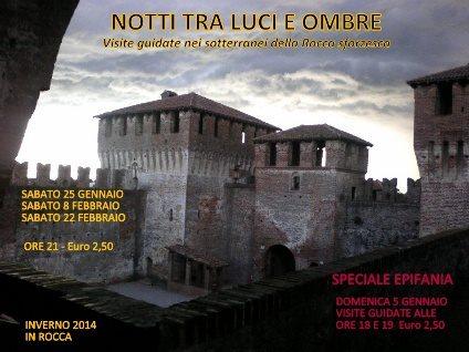 Notti tra luci e ombre alla Rocca di Soncino (CR)